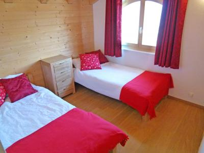 Holiday in mountain resort Chalet Ourson Blanc - Thyon - Bedroom
