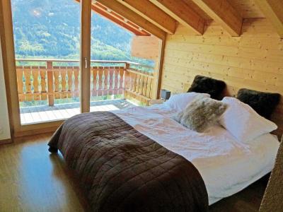 Vacances en montagne Chalet Ourson Blanc - Thyon - Chambre mansardée