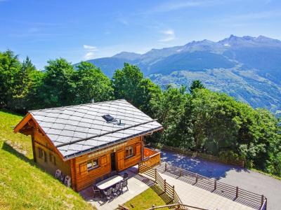 Rental Thyon : Chalet Panorama summer
