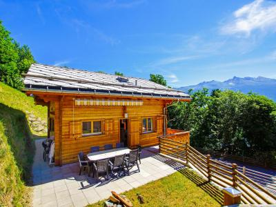 Holiday in mountain resort Chalet Panorama - Thyon - Summer outside