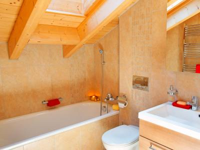 Holiday in mountain resort Chalet Panorama - Thyon - Bathroom