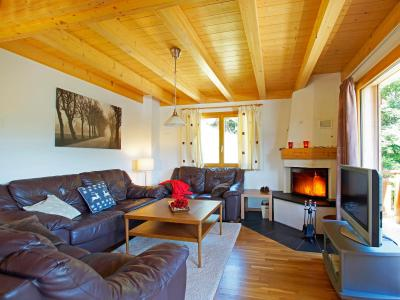 Holiday in mountain resort Chalet Panorama - Thyon - Living room