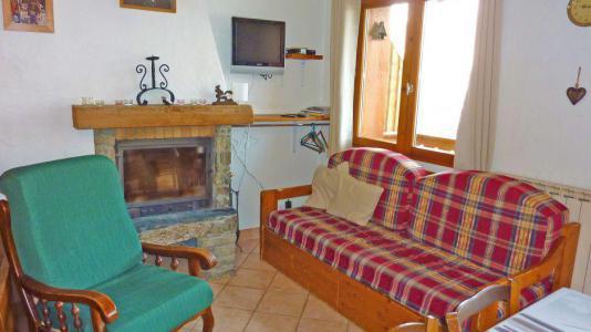 Vacances en montagne Chalet Pépé Martin - Saint Martin de Belleville - Cheminée
