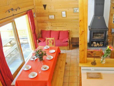 Vacances en montagne Chalet Piccola Pietra - Peisey-Vallandry - Séjour