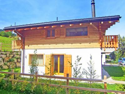 Location au ski Chalet Pierina - La Tzoumaz - Extérieur été
