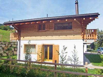 Location au ski Chalet 6 pièces 10 personnes - Chalet Pierina - La Tzoumaz - Extérieur été