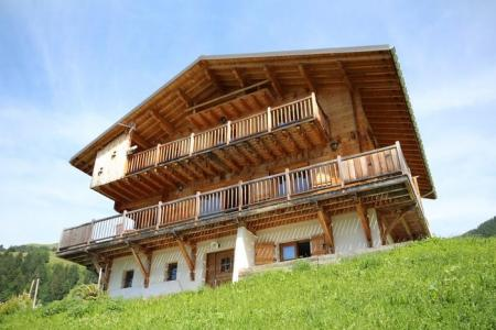 Rent in ski resort Chalet Pierres du Chozal - Les Saisies - Summer outside