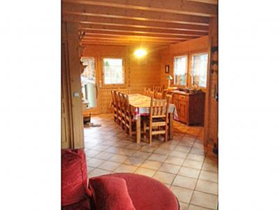 Holiday in mountain resort Chalet Portes du Soleil - Les Gets - Dining area