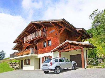 Location au ski Chalet Portes Du Soleil - Les Gets - Extérieur été
