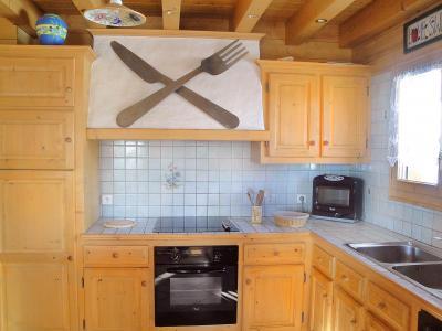 Holiday in mountain resort Chalet Portes du Soleil - Les Gets - Kitchen