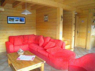 Holiday in mountain resort Chalet Portes du Soleil - Les Gets - Living room