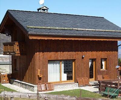 Location au ski Chalet 3 pièces cabine 6 personnes - Chalet Raffort - Méribel - Extérieur été