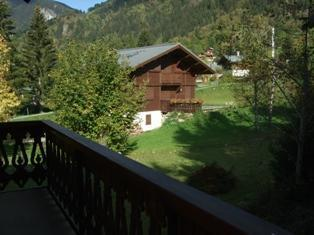 Location au ski Chalet triplex 4 pièces 6 personnes - Chalet Ribaldone - Saint Gervais - Extérieur été