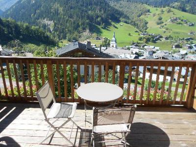 Location au ski Studio 2 personnes (42) - Chalet Roche Plane - Arêches-Beaufort - Extérieur été