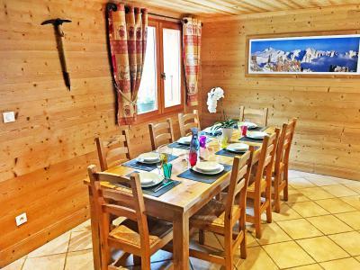 Vacances en montagne Chalet Rosa Villosa - Champagny-en-Vanoise - Table