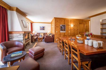 Vacances en montagne Chalet Santons - Val d'Isère - Salle à manger