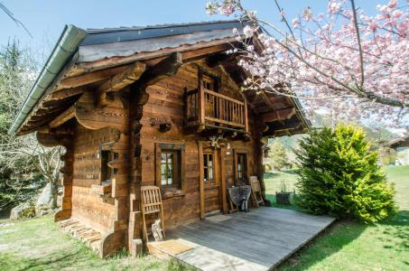 Rent in ski resort Chalet Sépia - Chamonix - Summer outside