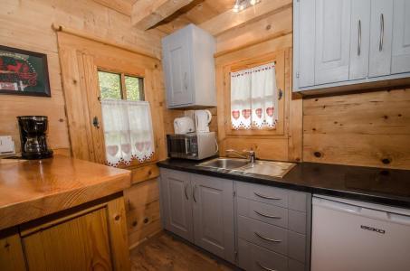 Vacances en montagne Appartement duplex 2 pièces 3 personnes - Chalet Sépia - Chamonix - Salle d'eau