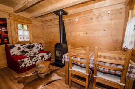 Vacances en montagne Appartement duplex 2 pièces 3 personnes - Chalet Sépia - Chamonix - Séjour
