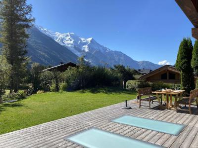 Vacances en montagne Chalet 4 pièces 6 personnes - Chalet Sérac - Chamonix - Extérieur été