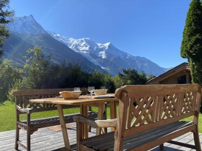 Location au ski Chalet Sérac - Chamonix - Extérieur été