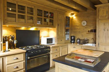 Vacances en montagne Chalet 4 pièces 6 personnes - Chalet Sérac - Chamonix - Cuisine