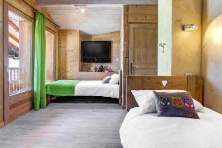 Holiday in mountain resort 5 room apartment cabin 11 people - Chalet Sicoria - Le Grand Bornand - Bedroom