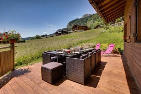 Holiday in mountain resort 5 room apartment cabin 11 people - Chalet Sicoria - Le Grand Bornand - Terrace