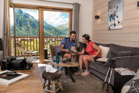 Vacances en montagne Chalet Skadi - Val d'Isère - Séjour