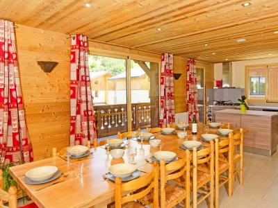 Holiday in mountain resort Chalet Ski Royal - Les Menuires - Dining area