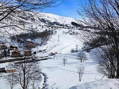 Location au ski Chalet Ski Royal - Les Menuires - Extérieur été