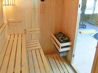 Holiday in mountain resort Chalet Ski Royal - Les Menuires - Sauna
