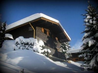 Holiday in mountain resort 3 room duplex apartment 6 people - Chalet Socali - Le Grand Bornand