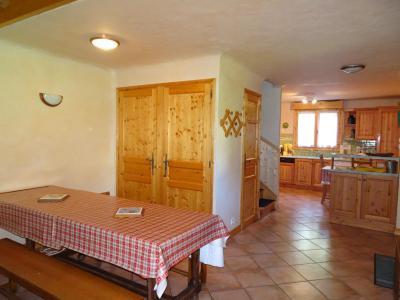 Vakantie in de bergen Appartement triplex 6 kamers 12 personen - Chalet Soldanelles - Champagny-en-Vanoise - Eetkamer