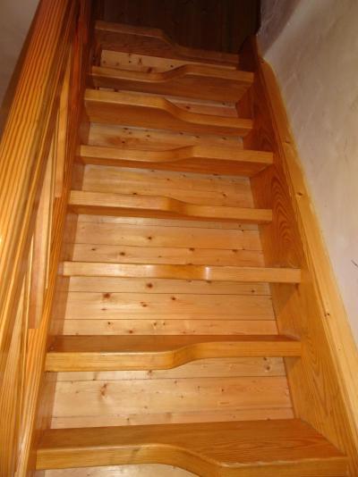 Vakantie in de bergen Appartement triplex 6 kamers 12 personen - Chalet Soldanelles - Champagny-en-Vanoise - Trap