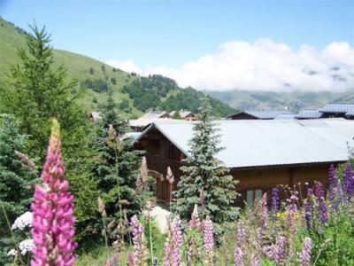 Location au ski Chalet 7 pièces 14 personnes - Chalet Soleil D'hiver - Les 2 Alpes - Extérieur été