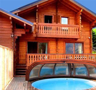 Location au ski Chalet 7 pièces 12 personnes - Chalet Soleil Levant - Les 2 Alpes - Extérieur été