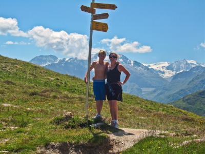 Vacances en montagne Chalet Sur Piste - Thyon - Extérieur été