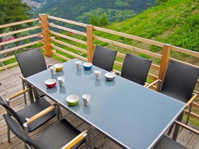 Rent in ski resort Chalet Sur Piste - Thyon - Summer outside