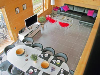 Vacances en montagne Chalet Sur Piste - Thyon - Salle à manger