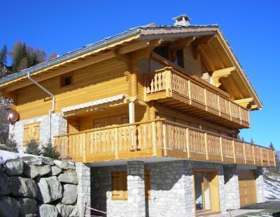 Location au ski Chalet 7 pièces 10 personnes - Chalet Teychenne - Thyon - Extérieur été