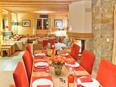 Vacances en montagne Chalet Teychenne - Thyon - Salle à manger