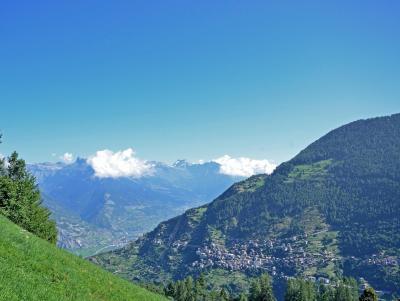 Location au ski Chalet Théo - La Tzoumaz - Extérieur été