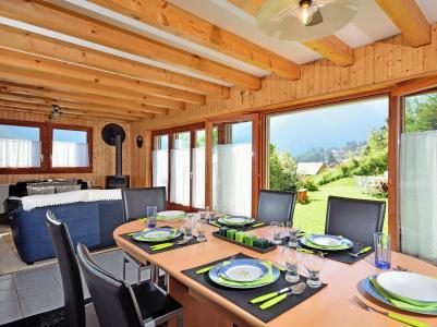 Vacances en montagne Chalet Théo - La Tzoumaz - Table