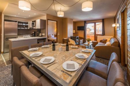 Vacances en montagne Appartement 6 pièces 10 personnes - Chalet Val 2400 - Val Thorens - Séjour