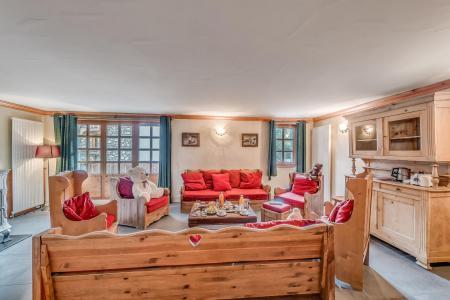Wakacje w górach Apartament 5 pokojowy 9 osób (2P) - Chalet Val d'Isère Cristal - Val d'Isère - Ławką