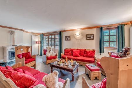 Wakacje w górach Apartament 5 pokojowy 9 osób (2P) - Chalet Val d'Isère Cristal - Val d'Isère - Pokój gościnny