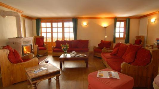 Wakacje w górach Apartament 5 pokojowy 9 osób (4P) - Chalet Val d'Isère Cristal - Val d'Isère - Pokój gościnny