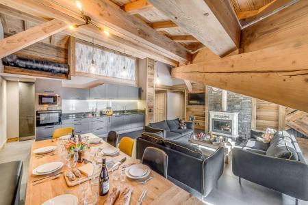 Wakacje w górach Apartament 6 pokojowy 11 osób (5P) - Chalet Val d'Isère Cristal - Val d'Isère - Zakwaterowanie