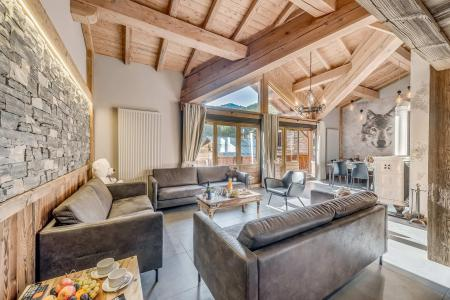 Wakacje w górach Apartament duplex 6 pokojowy 10 osób (3P) - Chalet Val d'Isère Cristal - Val d'Isère - Pokój gościnny